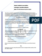 LFHCC JEA Sep 2011 General Meeting Minutes