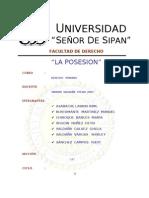 Monografia La Posesion