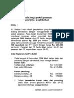 Bab 2 - Job Order Cost (Case)
