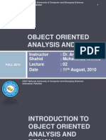 02-Introduction to OOAD