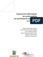 Experiencias Alternativas... LIBRO