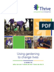 Using gardening to change lives - Horticultural Therapy