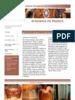 ARTESANIA en Madera - IPA - Volumen 4, Nº 4 - PortalGuarani