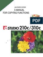 E-studio 210c,310c_user Manual