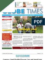 Southwest Globe Times -- Sep 8, 2011