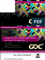 Kevin Vandecar Visual Arts Intro 3dsMax Customization