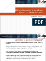 07 GPI_El Sponsor Del Proyecto