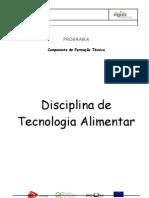 Programa - Disciplina - Tecnologia tar 0