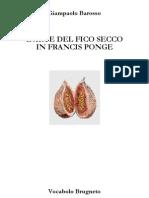 l'arte del fico secco in f. ponge