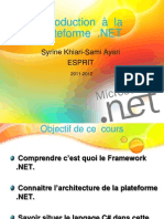 Intro Architecture Dot Net