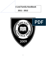KIPP NYC College Prep - Student and Family Handbook 2011-2012