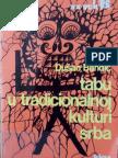 Dusan Bandic Tabu u Tradicionalnoj Kulturi Srba