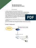 Cara Setting Mikrotik Router Board RB750