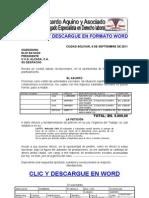 Formato Modelo Ejemplo SOLICITUD DE ADELANTO DE PRESTACIONES
