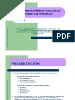 INDICADORES ECONÓMICOS Y SOCIALES DE PONFERRADA