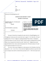 Righthaven v. Hoehn - Plaintiff Righthaven LLC's Motion for Stay of Judgment Pending Appeal