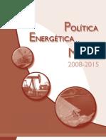 Política Energética Minera 2008-2015 Guatemala