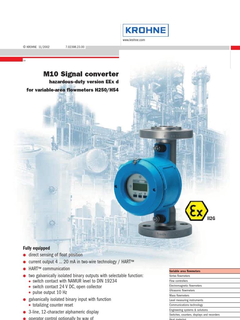 M10 | Flow Measurement | Switch