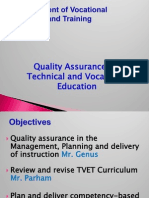Management of Vocational Education