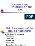 Anatomy Physiology of The Ear
