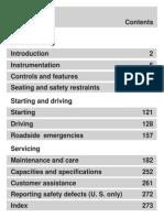 FordFocus 2000 Manual English