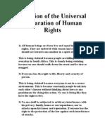 x civics isu violation of the universal declaration of human rights