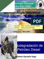 Biodegradación de Petróleo Diesel_PRESENTACION