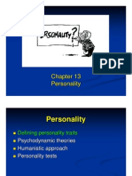 Ch. 13 Personality