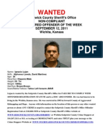 Registered Offender of the Week September 12 2011