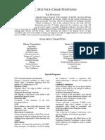 HMC 2012 Positions