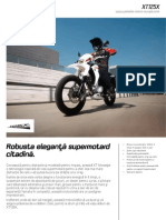 2010 Yamaha XT125X Factsheet RO RO