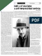 Marinetti y El Futurismo Jhoerson Yagmour 3