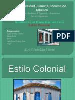Diseño.. colonial..
