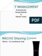 Ppt of Macho Cream