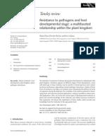 Resistance Pathogen Host