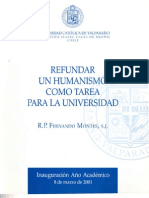 P. Fernando Montes Clase Inaugural 2001