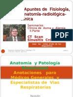 Apuntes de Radiología Rinosinusal  CT Scan  Sinusitis V parte