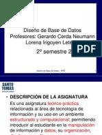 Presentación Diseño de Base de Datos