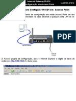 Configuracao Access Point Di524
