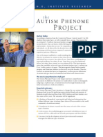 Autism Phenome Project