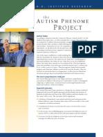 Autism Phenome Project