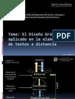 El diseño grafico aplicado en la elaboración de textos a distancia 2010 XII-mayo