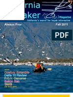 California Kayaker Magazine - Fall 2011 issue