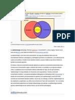 Epistemología y sus definiciones