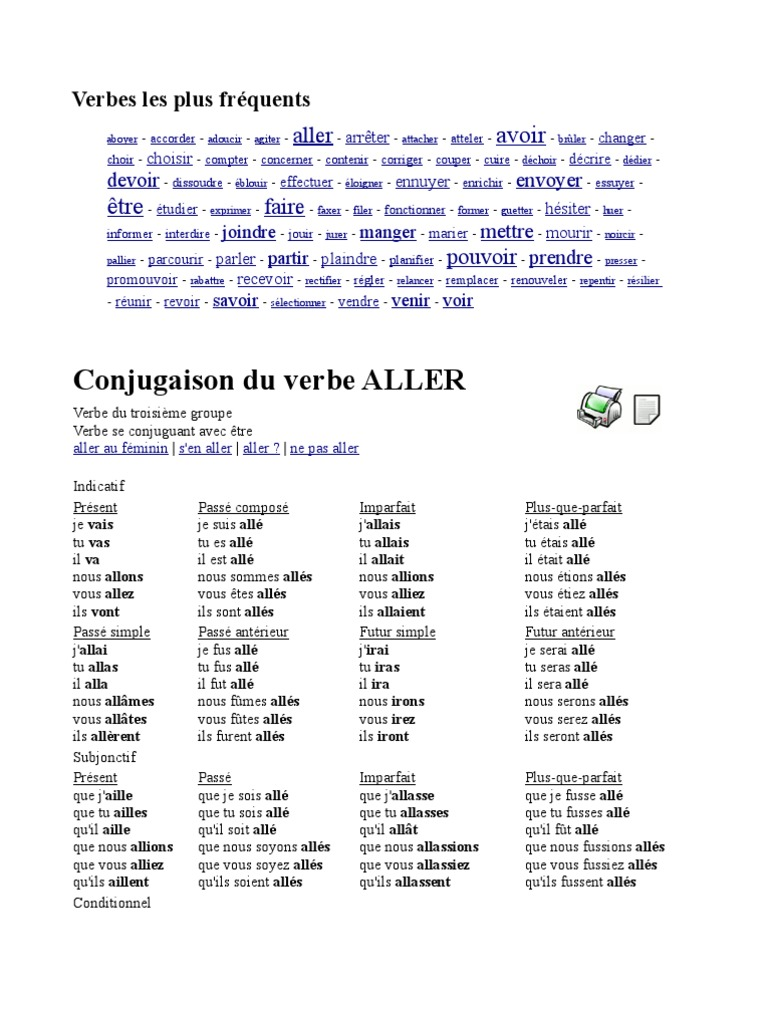 Conjugacaofr Verbe Onomastique
