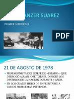 Hugo Banzer Suarez