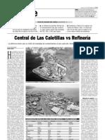 Central de Las Caletillas vs Refinería