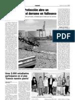 La Agencia de Protección abre un expediente por el vertido en Valleseco (4-6-09)