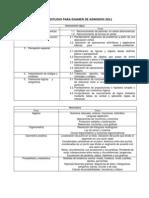 Guia de Estudio Para Examen de Admision 2011 (1)