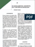 Accidentes con medicamentos. conceptos, clasificación y métodos de detección. Carmen Lacasa.